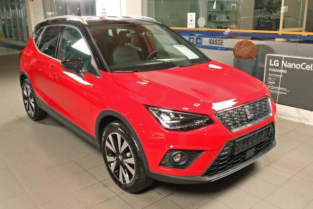 Lagerfahrzeug Seat Arona - 1.0 EcoTSI DSG Xcellence, Kamera, LED, Winterpaket, 5 Jahre Garantie