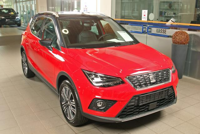 Lagerfahrzeug Seat Arona - 1.0 EcoTSI DSG Xcellence, DAB, LED, Winterpaket, 5 Jahre Garantie