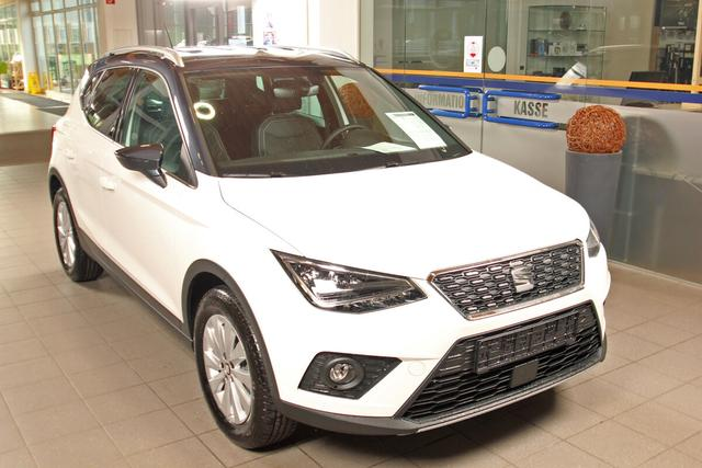 Lagerfahrzeug Seat Arona - 1.0 EcoTSI DSG Xcellence, LED, DAB, Winterpaket, 5 Jahre Garantie
