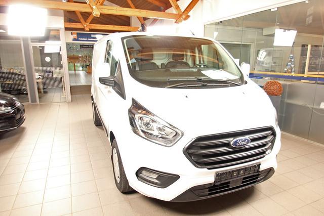 Lagerfahrzeug Ford Transit - Custom 2.0 TDCi Kasten L1H1, Bluetooth, Einparkhilfe, Tempomat