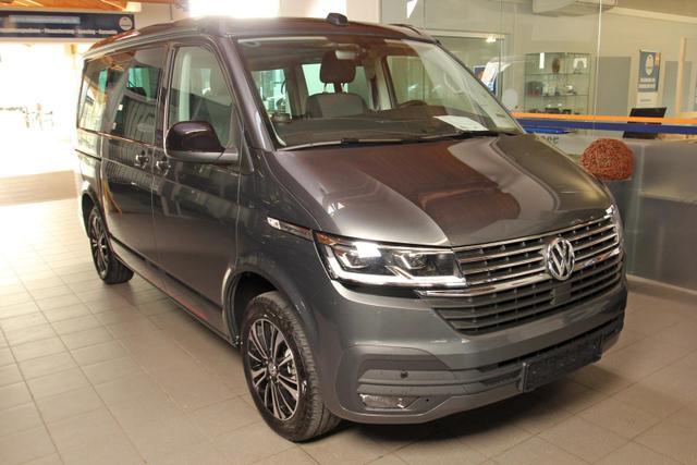 Volkswagen California 6.1 - T6.1 TDI DSG Beach Edition, Tour, 2x Schiebetür, AHK, Navi