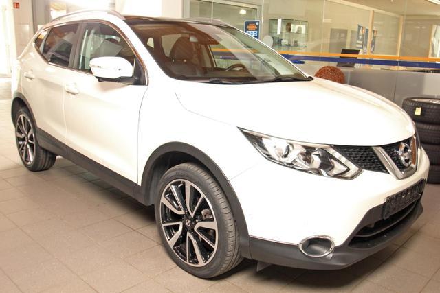 Gebrauchtfahrzeug Nissan Qashqai - 1.6 dCi XTRONIC Tekna, AroundView, LED, Navi, Pano, Sitzheizung