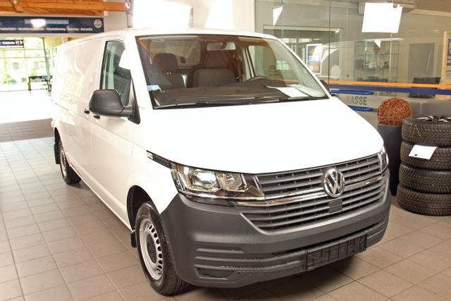 Volkswagen Transporter 6.1 Kastenwagen - T6.1 2.0 TDI Kasten LR, AHK, Bluetooth, Heckflügel