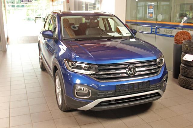 Volkswagen T-Cross - 1.0 TSI DSG Style, Navi, LED, 4-Jahre Garantie