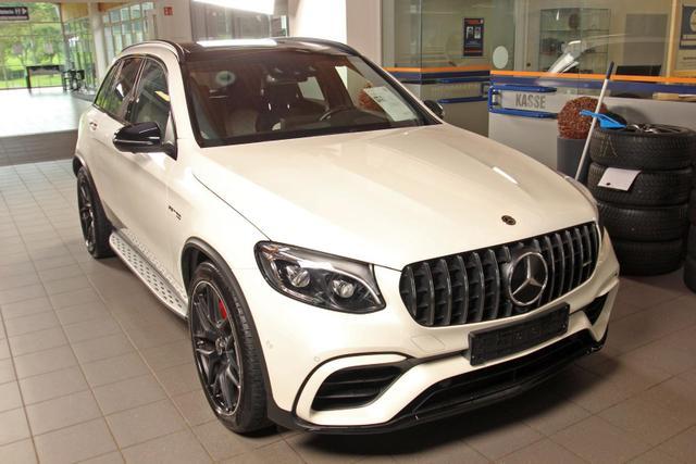 Gebrauchtfahrzeug Mercedes-Benz GLC - 63 S AMG 4Matic V8 designo UVP 126 TOP