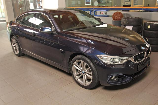 Gebrauchtfahrzeug BMW 4er - 440i xDrive Grand Coupé Sport Line Navi, Kamera, Xenon
