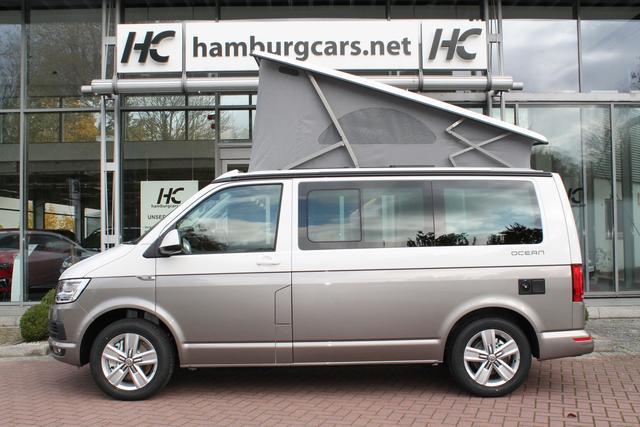 VW T6.1 California - Ocean 2.0 TDI 4M Küche LED el.Dach 3Z-Klima Standhzg. - Bestellfahrzeug, konfigurierbar