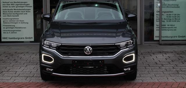 VW T-Roc Cabriolet - Style 1.5 TSI DSG ACC Kamera Kessy Park-& Winterpak. 2Z-Klima App-connect - Lagerfahrzeug