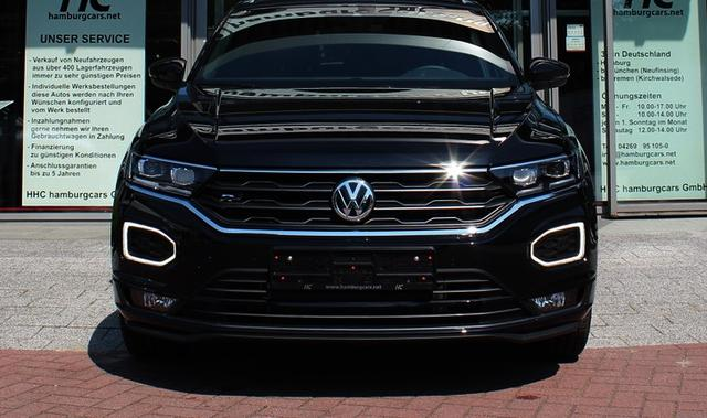 VW T-Roc Cabriolet - R-Line 1.5 TSI DSG LED Navi AHK Beats-Sound ACC Assistenz-&Winterpaket ActiveInfoD. 2Z-Klima - Lagerfahrzeug