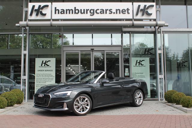 Audi A5 Cabriolet - Prestige  40TFSI Navi Matrix-LED Assistenz-Sitz-Spiegel-Infotainment-PAKET - Lagerfahrzeug