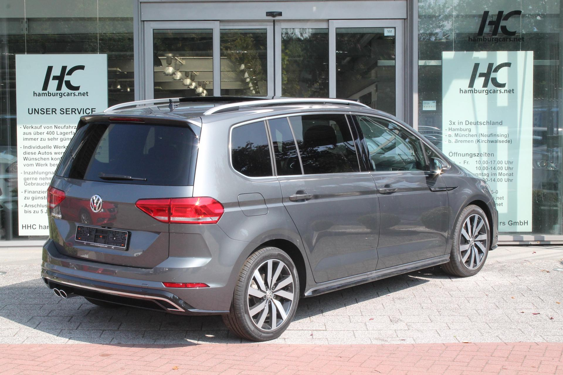 volkswagen touran r line 2 0 tdi scr dsg 190ps reimport. Black Bedroom Furniture Sets. Home Design Ideas