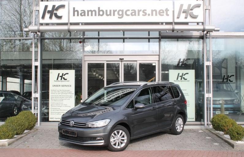 VW Touran EU-Neuwagen bei Hamburgcars