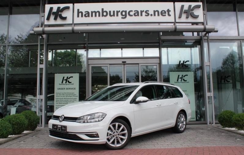 VW Golf EU-Neuwagen bei Hamburgcars