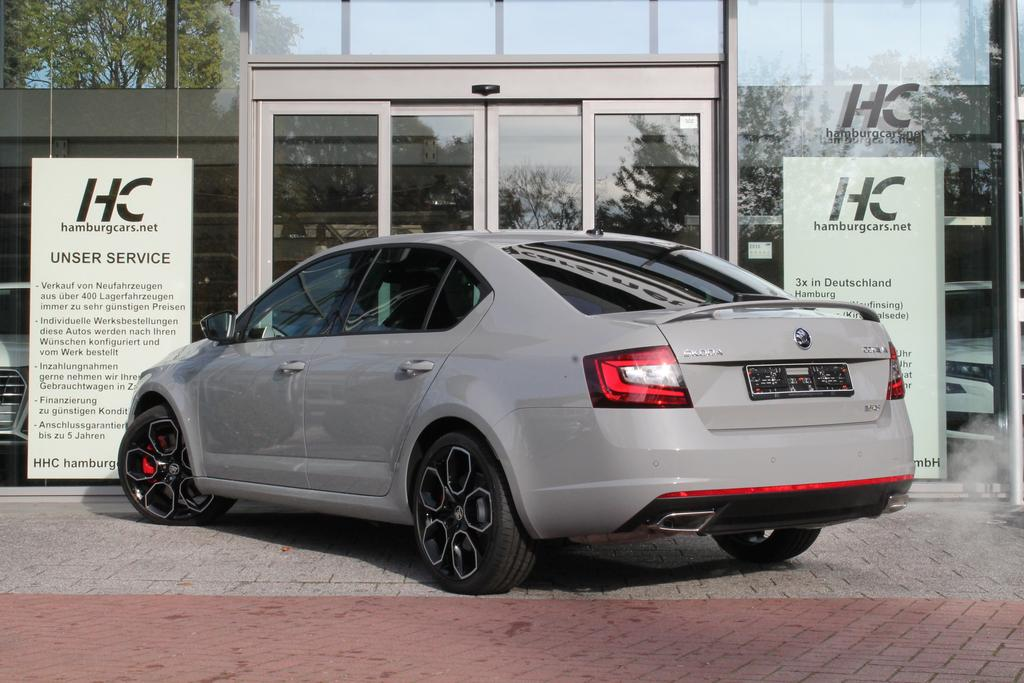 skoda octavia rs245 2 0 tsi led pdc 19 acantara. Black Bedroom Furniture Sets. Home Design Ideas