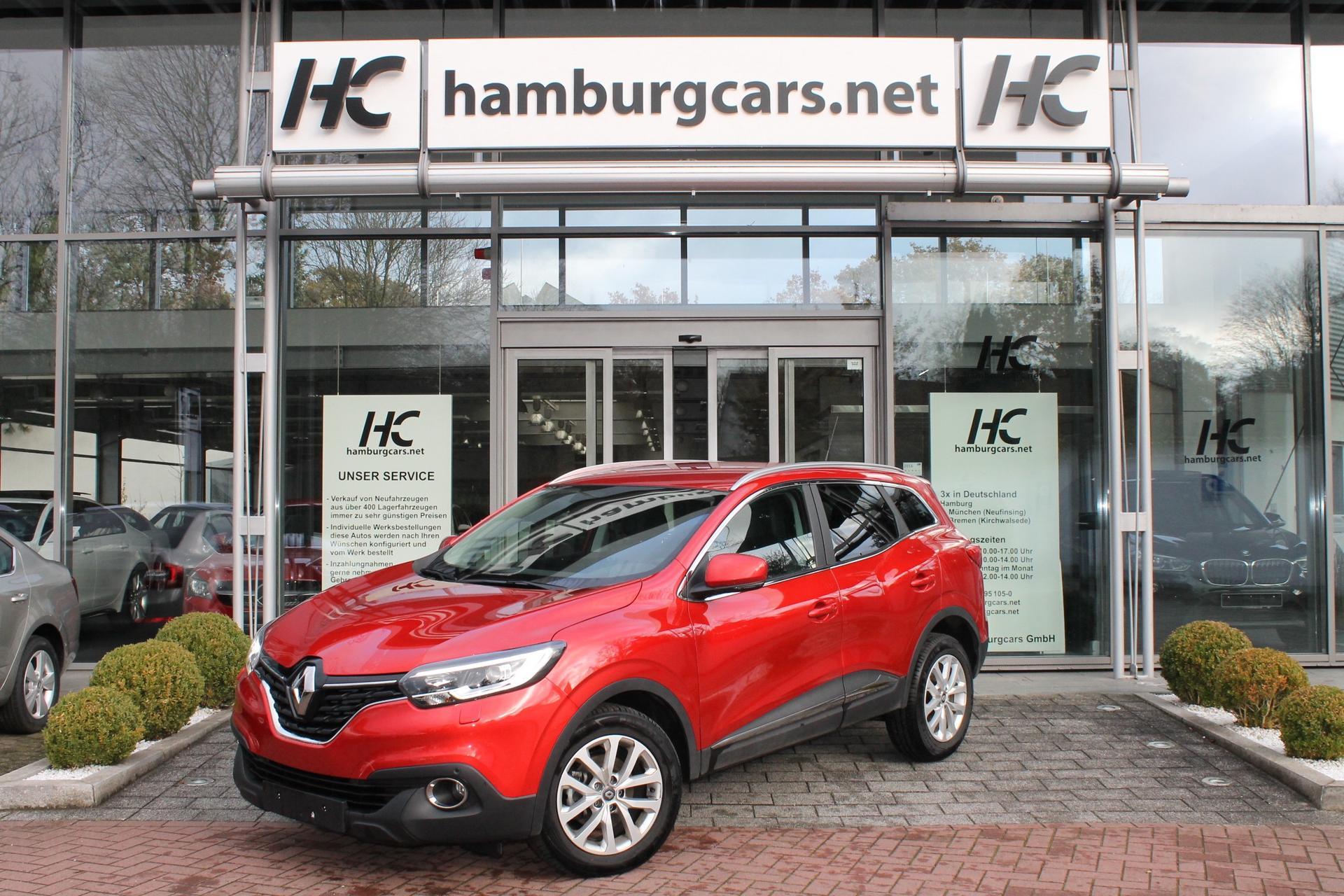 Renault Kadjar -Grau-  Hamburgcars