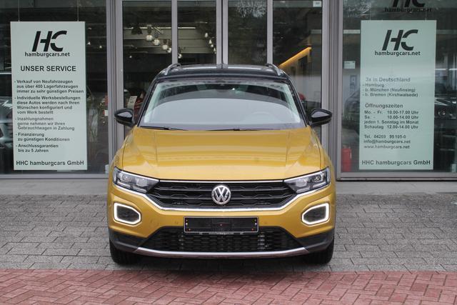 VW T-Roc - Sport TEAM 1.5 TSI DSG AHK Navi Cam Kessy el.Heckkl. ACC LED ActiveInfo Assistenzpaket - Lagerfahrzeug