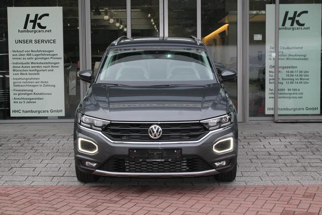 VW T-Roc - Sport TEAM 2.0 TDI 4M DSG Navi Cam Kessy el.Heckkl. ACC LED ActiveInfo Assistenzpaket - Lagerfahrzeug