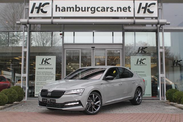 Skoda Superb - Sportline 2.0 TSI 4x4 DSG LED-Matrix 19