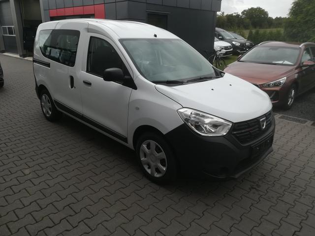 Lagerfahrzeug Dacia Dokker - SCe 100 Klima, Radio, ZV Funk, AHK SOFORT