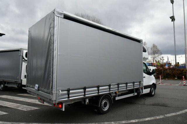 Vorlauffahrzeug Mercedes-Benz - Sprinter III Pritsche Plane Schlafkabine 10 PAL
