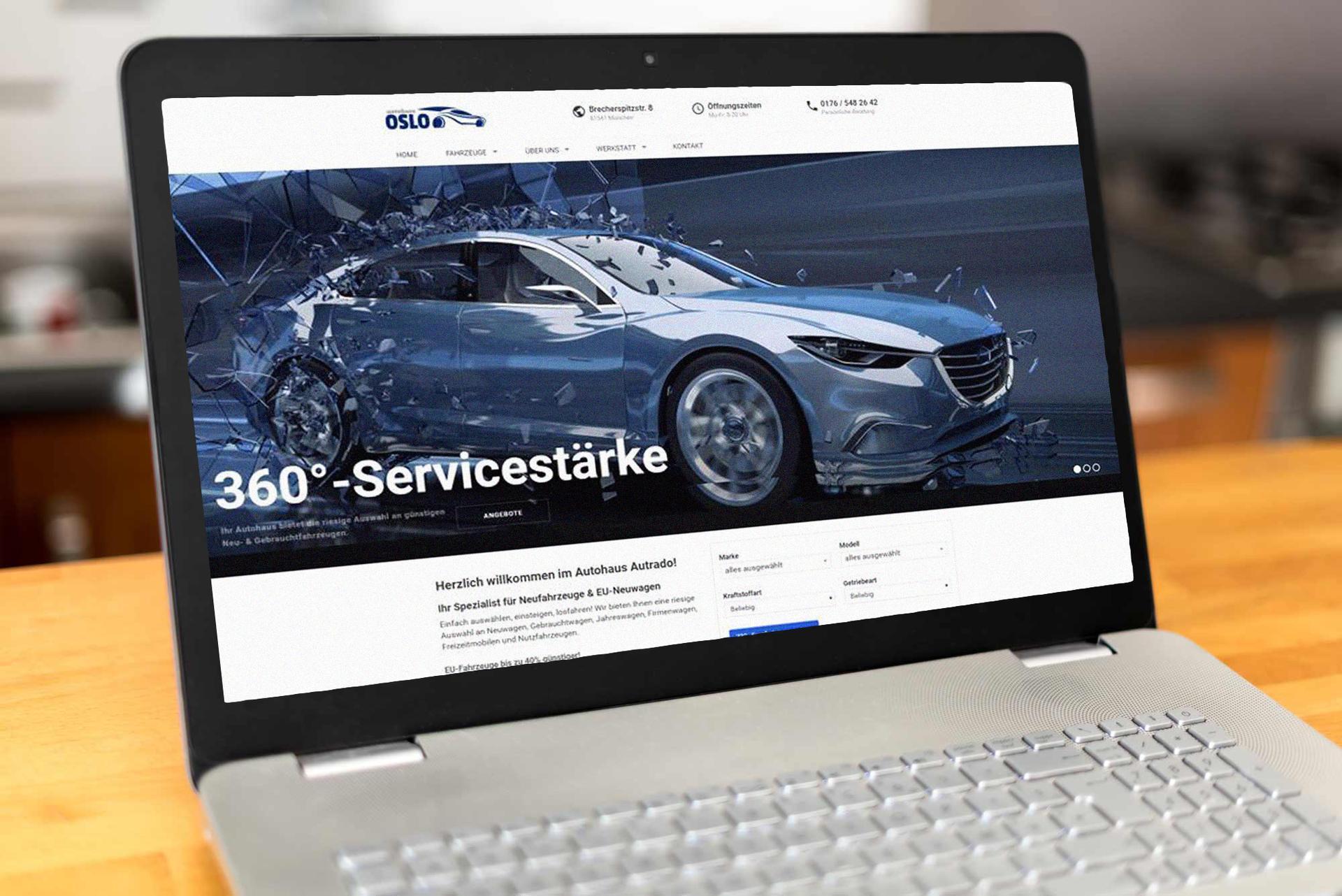Wesite Design Autohandel Kunden Referenzen