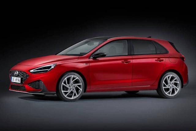 Vorlauffahrzeug Hyundai i30 - HB 1.5 T-GDI N-Line 48V  Mildhybrid Neues Modell 2019 LED 7DCT Klimaauto PDC