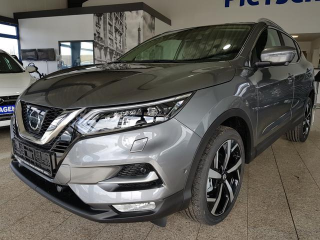 Vorlauffahrzeug Nissan Qashqai - Tekna 2021 Euro 6d-Temp Full, 1.3 DIG-T  19'' R.cam Temp Navi7'' SHZ V  PDC H V NissanSafetyShield SmartKey Panorama LED Leder