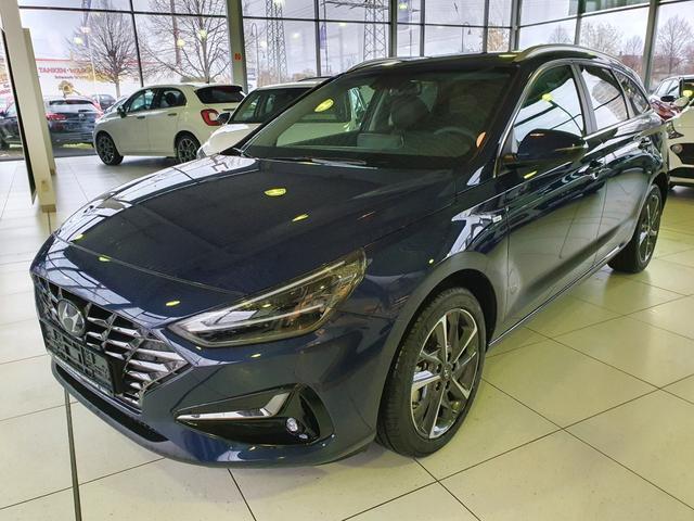 Lagerfahrzeug Hyundai i30 Kombi - WG 1.5 T-GDI 48V Premium  Mildhybrid FACELIFT 2020 T. Leder Navi Smartkey LED Klimaauto PDC