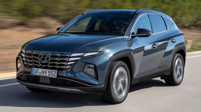 Vorlauffahrzeug Hyundai Tucson - Start 2021, 1.6 CRDi  17'' R.Cam Klima Temp ZVR