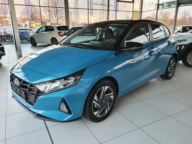 Lagerfahrzeug Hyundai i20 - Neues Modell 2020 1.2  SOFORT   Navi Klima SHZ PDC R.Cam Alu16