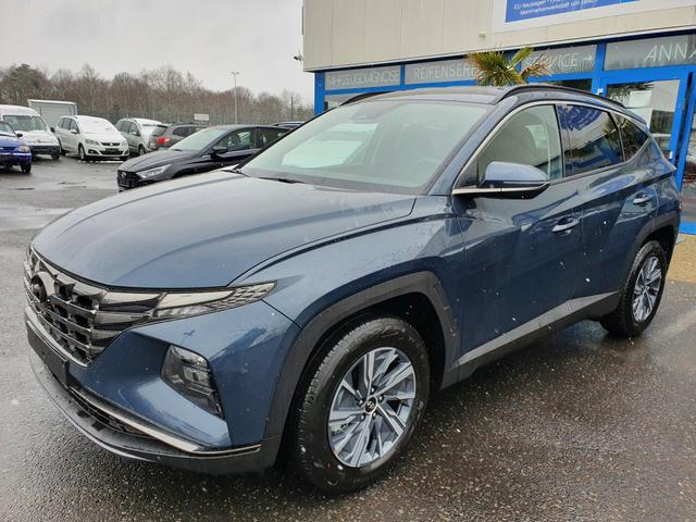 Vorlauffahrzeug Hyundai Tucson - Smart  FACELIFT 2021  1.6 T-GDI HEV  6AT 4WD LED Carplay Android Klimaauto SHZ PDC R.Cam Temp