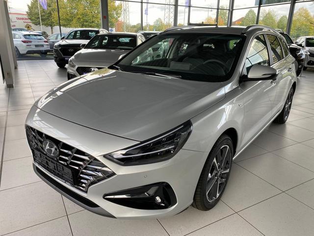 Vorlauffahrzeug Hyundai i30 Kombi - WG 1.6 CRDi Komfort  FACELIFT 2020 7DCT Klima PDC ZVR