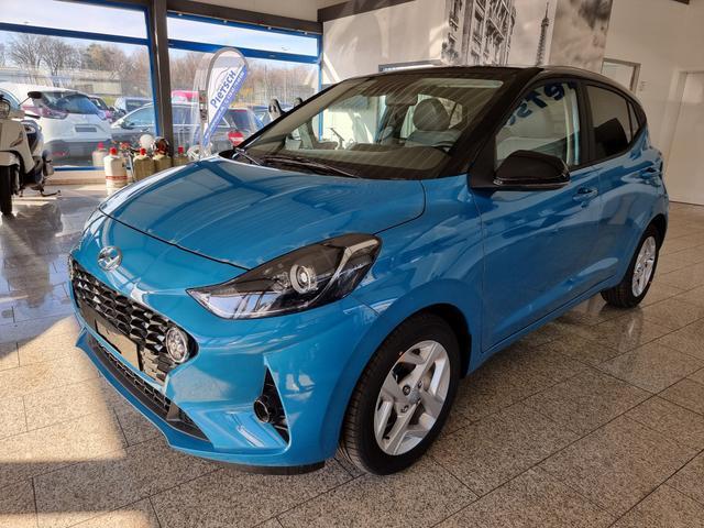 Lagerfahrzeug Hyundai i10 - Facelift 2021  SOFORT  SONDERZINS ab 0,89%   4Sitze Navi Klimaauto SHZ PDC R.Cam