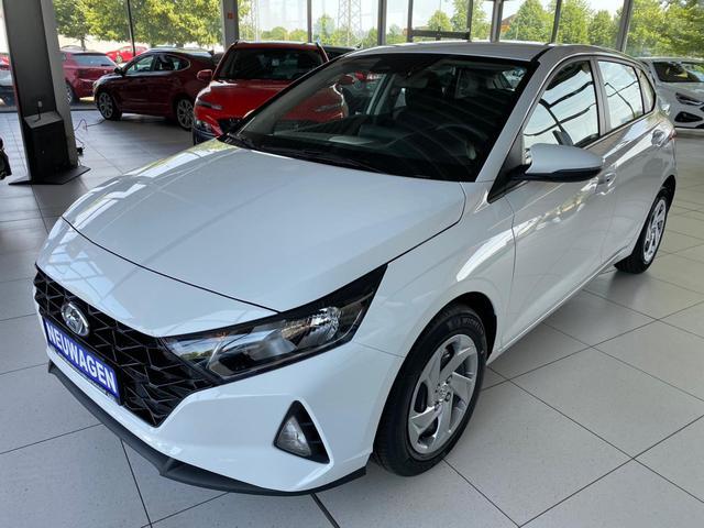 Lagerfahrzeug Hyundai i20 - 1,0 T-GDI  7Gang-DCT Sitzheizung PDC UVM