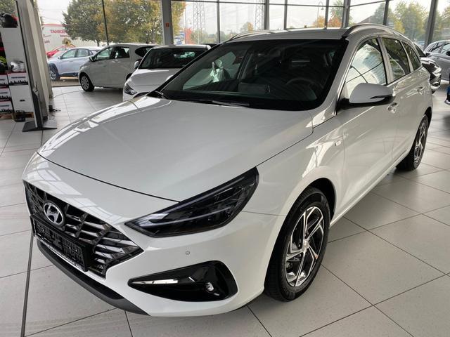 Lagerfahrzeug Hyundai i30 Kombi - WG 1.6 CRDi 48V Style  Mildhybrid FACELIFT 2020 7DCT LED Navi Klimaauto PDC