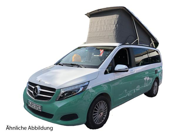 Mercedes-Benz V Marco Polo 250d 4MATIC 140kW weiß LED-Navi-DISTRONIC-360 (Konfig: MBw)