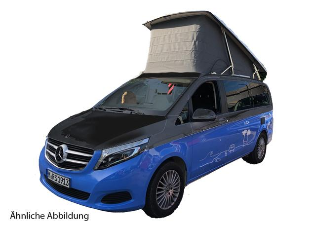 Mercedes-Benz V Marco Polo 250d 4MATIC 140kW schwarz LED-Navi-DISTRONIC-360 (Konfig: MBs)