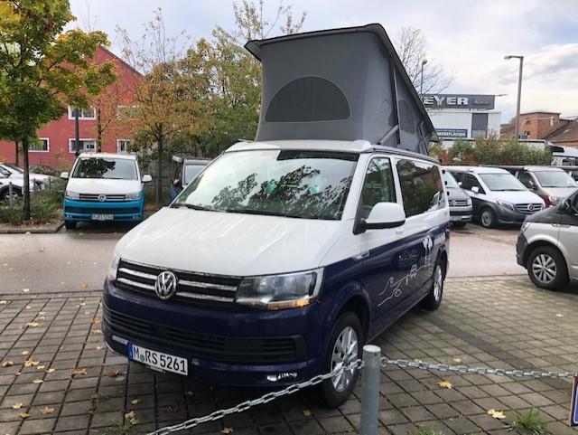 Volkswagen T6 California Ocean weiß (C) TDI, 110kW, Euro6, ACC-Navi-Rückfahrkamera-Sitzheizung-Standheizung