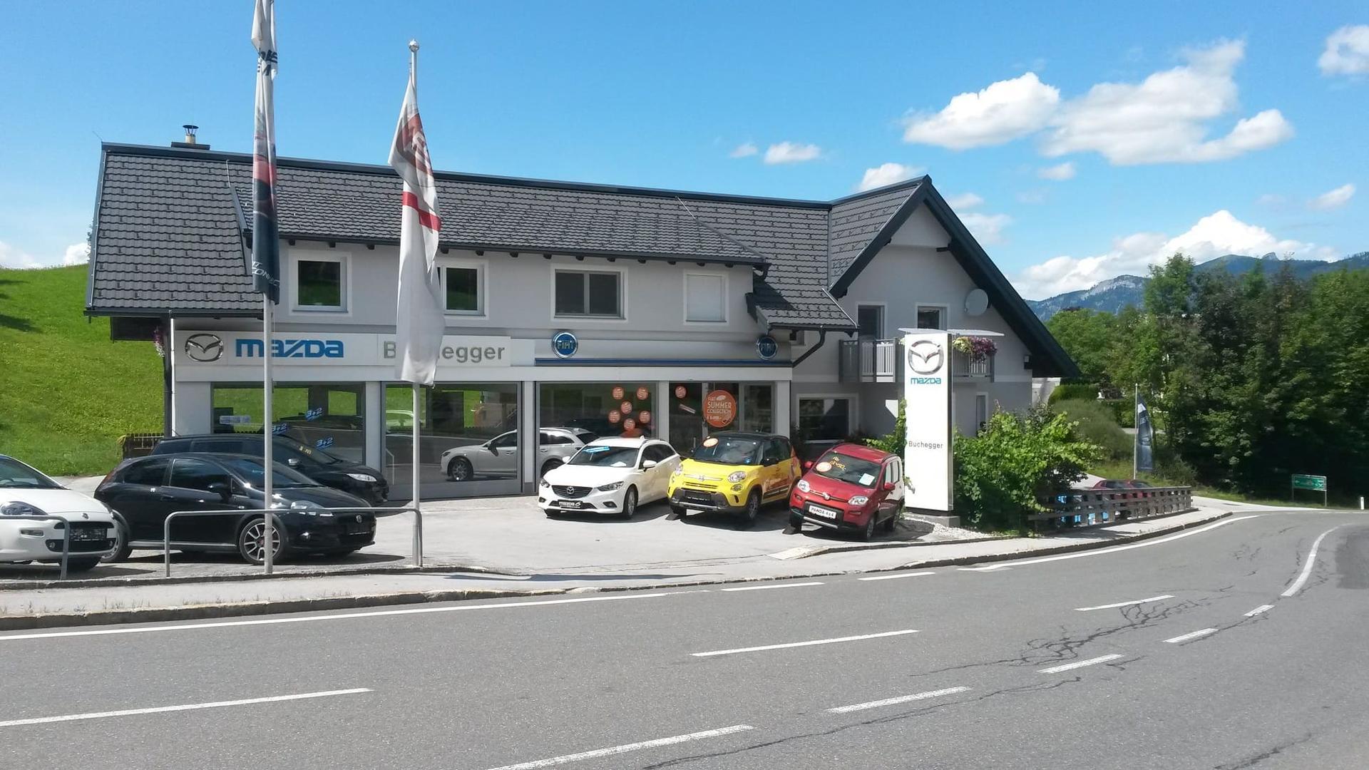 Autohaus Buchegger Vertragshändler für Mazda und Fiat sowie Kfz-Meisterbetrieb für alle Marken