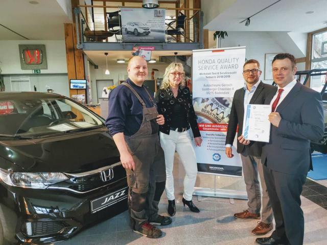 Service Award - Werstatt & Service für Honda und Ssangyong