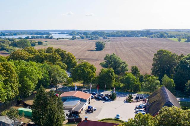 Autoscheune Gerlach Inselsee Luftbild