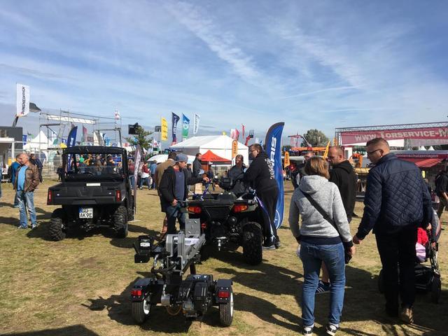 Messestand Polaris auf der MELA 2019 in Mühlengeez