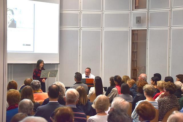 23.9.2019: Sopranistin Atsuko Aoki, Pianist Rüdiger Maerten