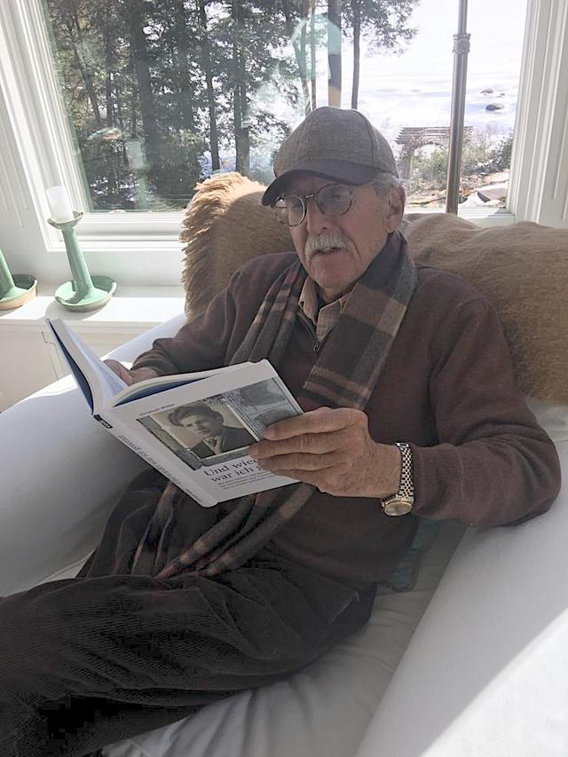 10.02.20: Lorenz Reibling, Prof. (em.) of Holocaust and Resistance History, Boston College, USA, liest die Alex-Biografie