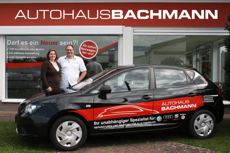Autohaus Bachmann Wartung und Reparatur - Ihr unabhängiger Spezialist für VW, Audi, Seat und Skoda
