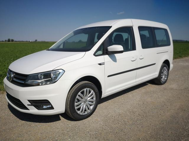 Volkswagen Caddy Maxi - 2.0TDi Trendline 7Sitzer Climatronic Navi GRA Vorlauffahrzeug
