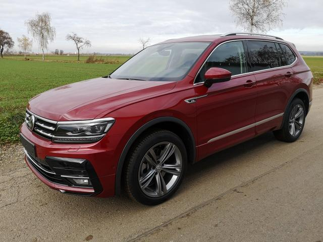 Volkswagen Tiguan Allspace - 2.0TDi R-Line DSG 4x4 Standh.7 Sitze ACC ergo 19Zoll