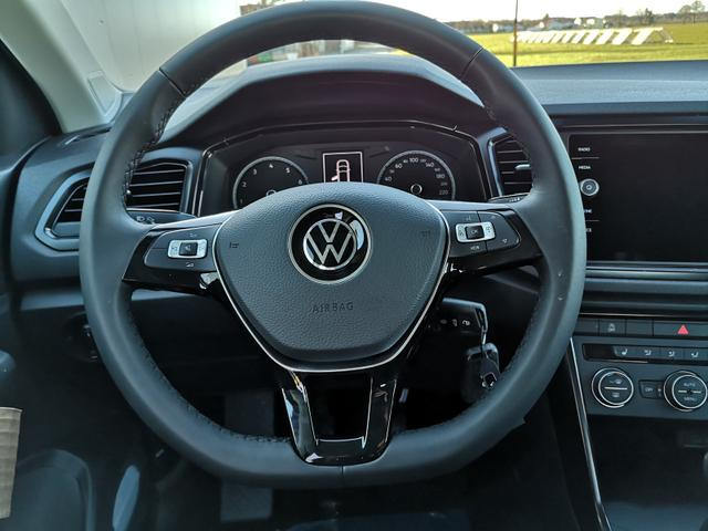 Volkswagen (EU) T-Roc 1,0TSi Basic Climatronic MFL APP Sitzh.