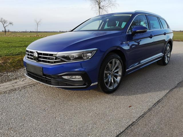 Kurzfristig verfügbares Fahrzeug, wird im Auftrag des Bestellers importiert / beschafft Volkswagen Passat Variant - Var. 2.0TDi R-Line DSG 4Motion ACC, elek. HK, Matrix, Navi Pano