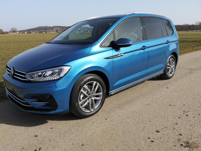 Kurzfristig verfügbares Fahrzeug, wird im Auftrag des Bestellers importiert / beschafft Volkswagen Touran - 2.0TDi R-Line DSG ACC NAVI LED 7Sitzer